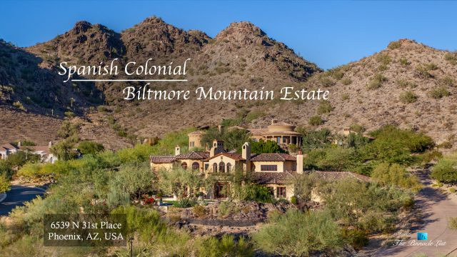 Spanish Colonial Biltmore Mountain Estate - 6539 N 31st Pl, Phoenix, AZ, USA
