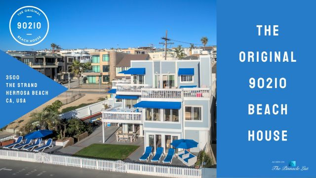 The Original 90210 Beach House - 3500 The Strand, Hermosa Beach, CA, USA