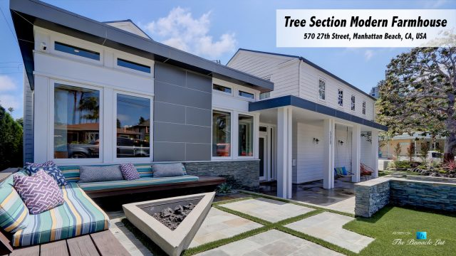 Tree Section Modern Farmhouse - 570 27th Street, Manhattan Beach, CA, USA