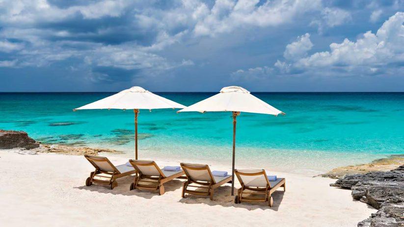Amanyara Luxury Resort - Providenciales, Turks and Caicos Islands - Beach Umbrella Chairs