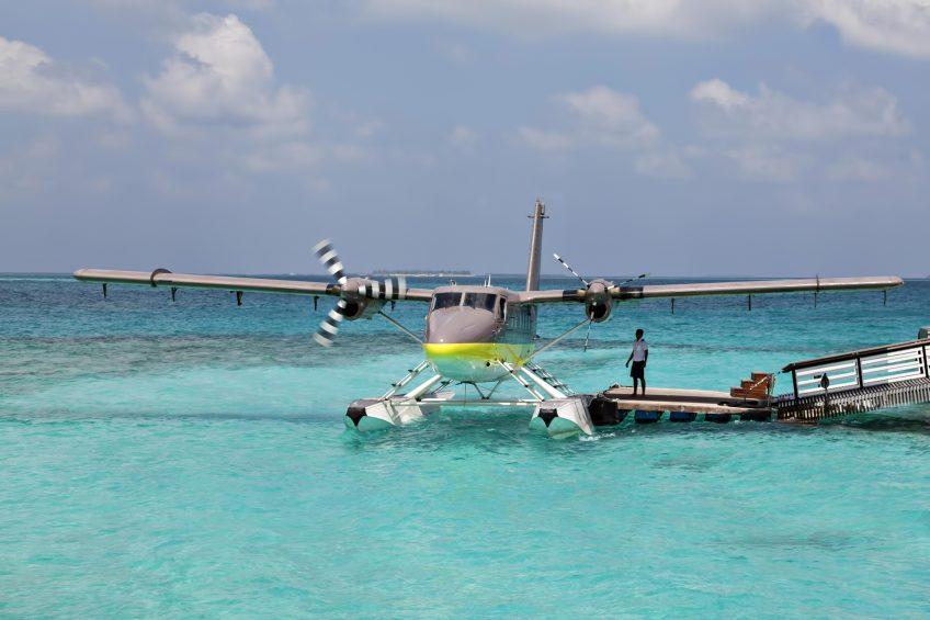 Cheval Blanc Randheli Luxury Resort - Noonu Atoll, Maldives - Private Island Resort Plane Arrival