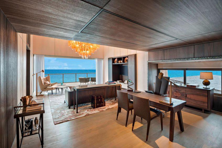 The St. Regis Maldives Vommuli Luxury Resort - Dhaalu Atoll, Maldives - John Jacob Astor Estate Suite