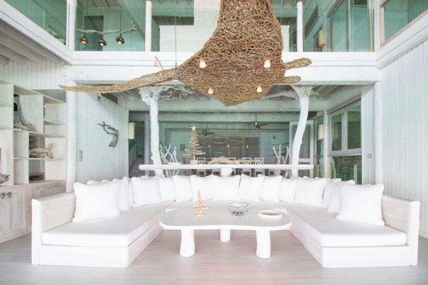 Soneva Jani Luxury Resort - Noonu Atoll, Medhufaru, Maldives - 4 Bedroom Water Reserve Villa Living Area