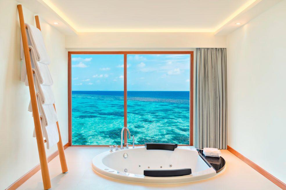 W Maldives Luxury Resort - Fesdu Island, Maldives - Extreme WOW Ocean Haven Bathroom