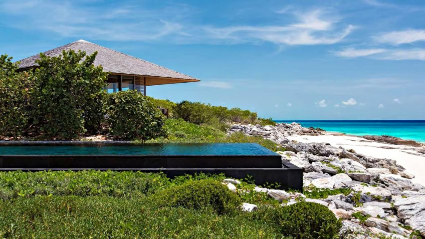 Amanyara Luxury Resort - Providenciales, Turks and Caicos Islands - Artist Ocean Villa Infinity Pool View