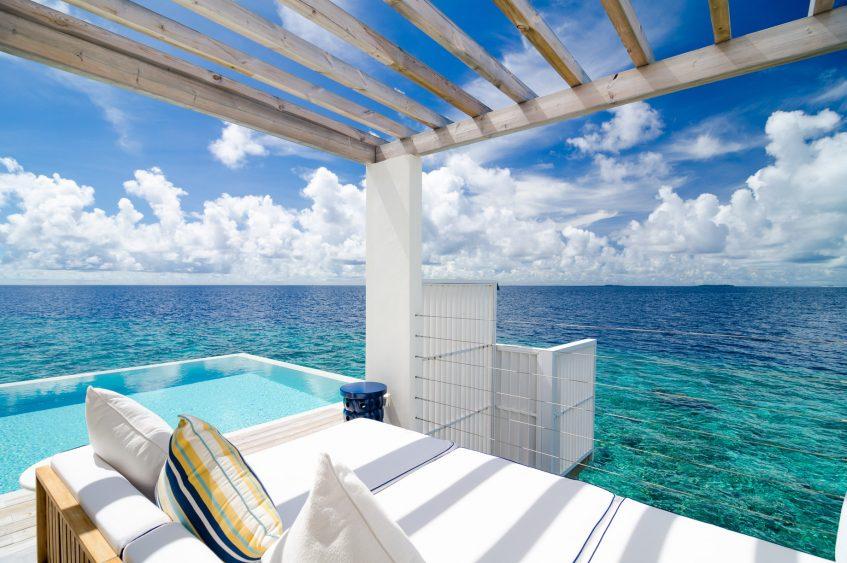 Amilla Fushi Luxury Resort and Residences - Baa Atoll, Maldives - Reef Water Villa Pool View