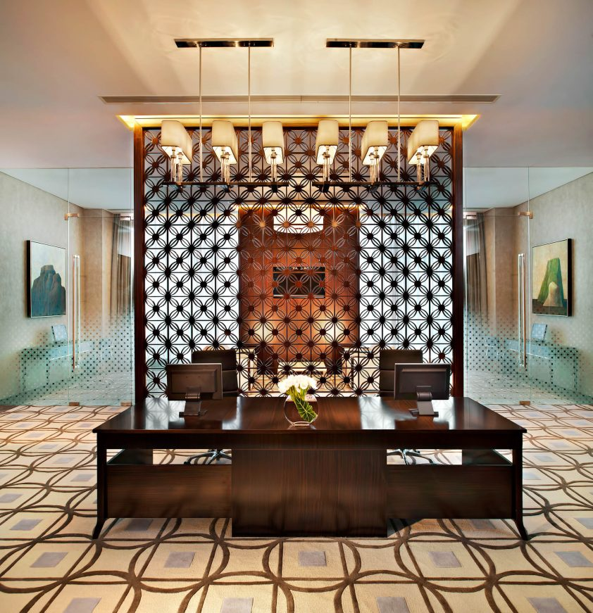 The St. Regis Tianjin Luxury Hotel - Tianjin, China - Business Center