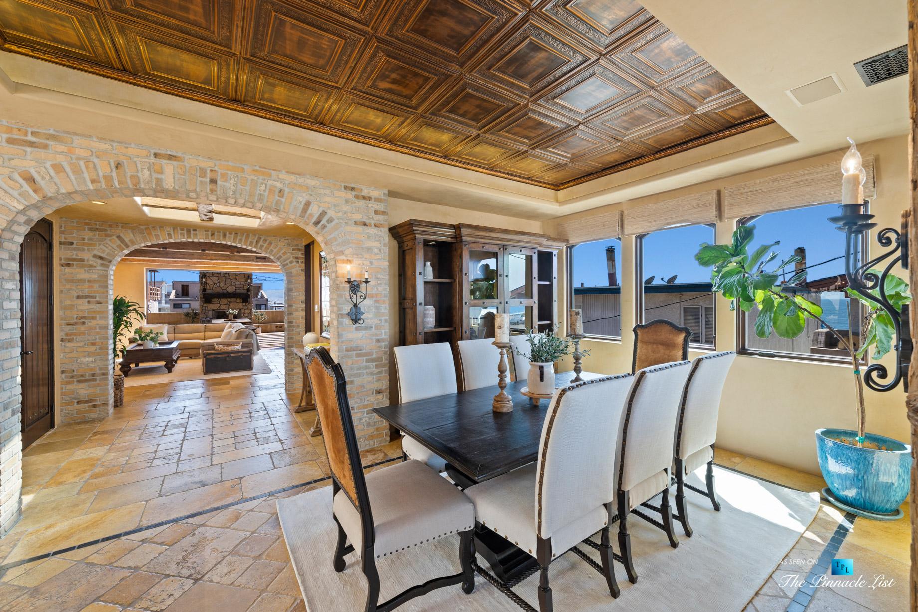 216 7th St, Manhattan Beach, CA, USA - Luxury Real Estate - Coastal Villa Home - Dining Room