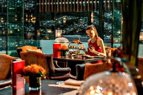 Regent Shanghai Pudong Luxury Hotel - Shanghai, China - Lounge