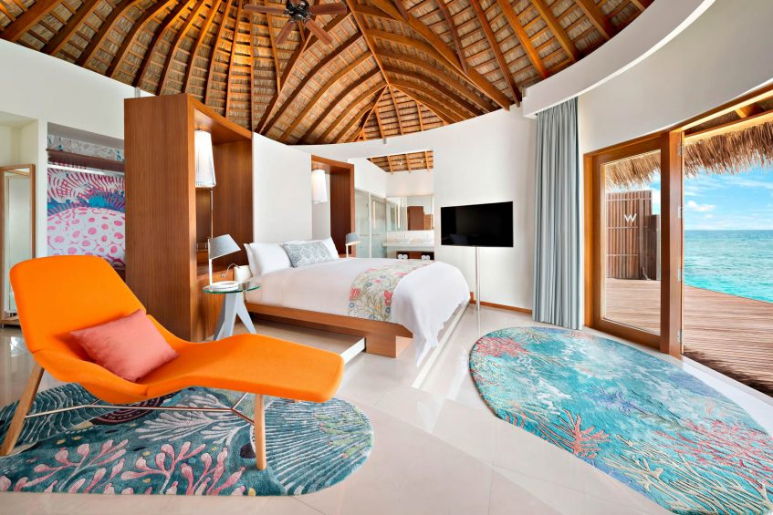 W Maldives Luxury Resort - Fesdu Island, Maldives - Wow Ocean Escape Master Suite