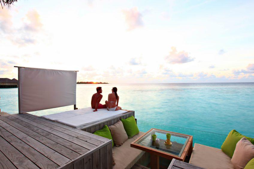 Six Senses Laamu Luxury Resort - Laamu Atoll, Maldives - Overwater Villa Ocean Deck