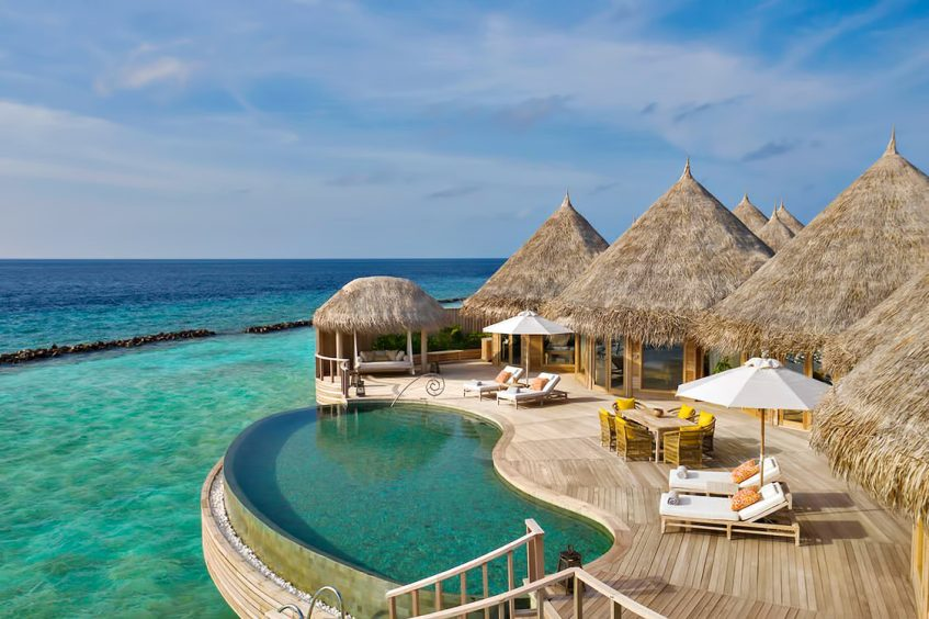 The Nautilus Maldives Luxury Resort - Thiladhoo Island, Maldives - The Nautilus Retreat Infinity Pool