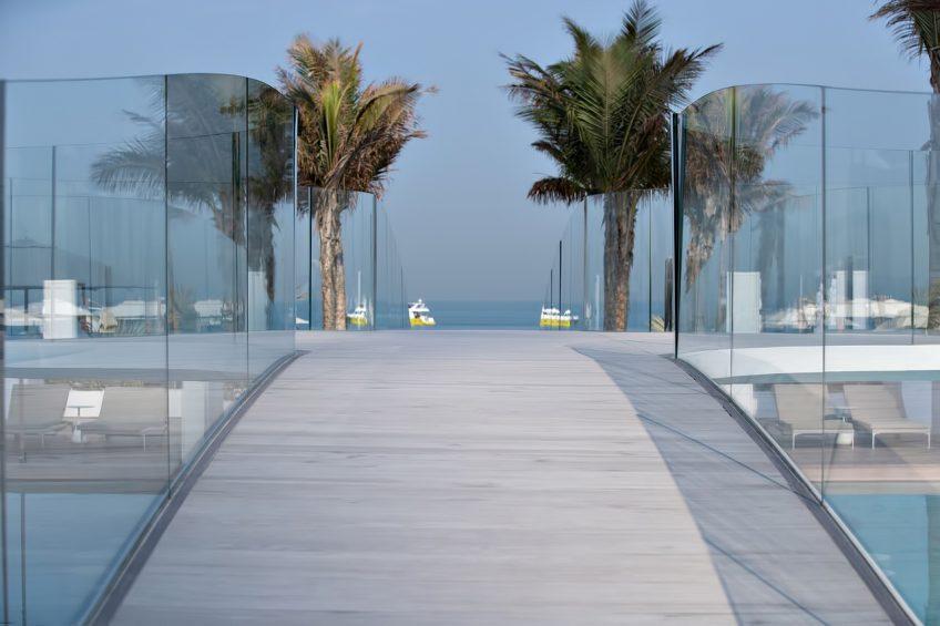 Burj Al Arab Luxury Hotel - Jumeirah St, Dubai, UAE - Burj Al Arab Terrace Pool Bridge
