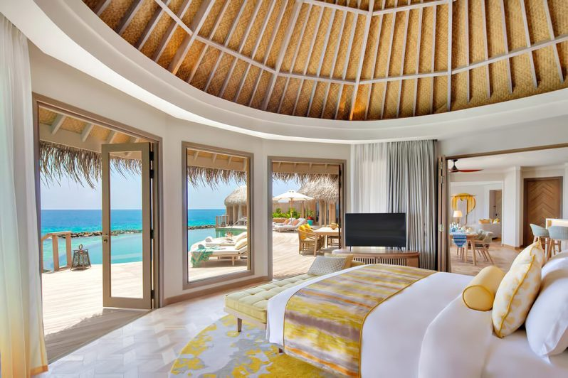 The Nautilus Maldives Luxury Resort - Thiladhoo Island, Maldives - The Nautilus Retreat Master Bedroom
