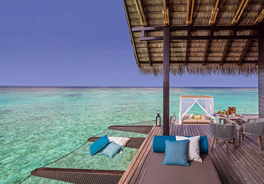 One&Only Reethi Rah Luxury Resort - North Male Atoll, Maldives - Overwater Villa Deck
