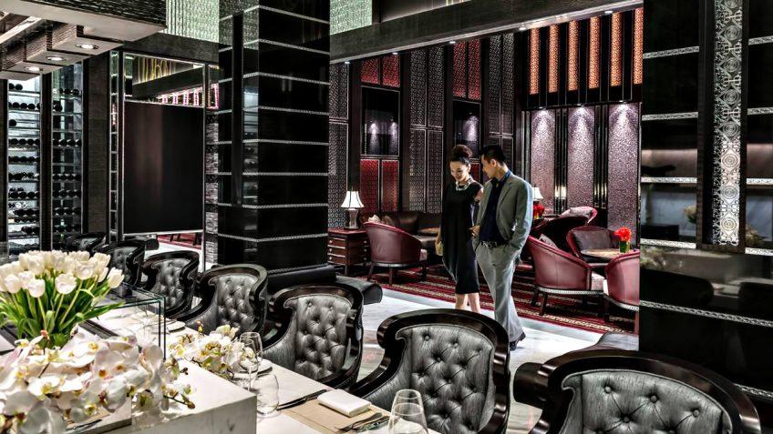 Regent Shanghai Pudong Luxury Hotel - Shanghai, China - Evening Lounge