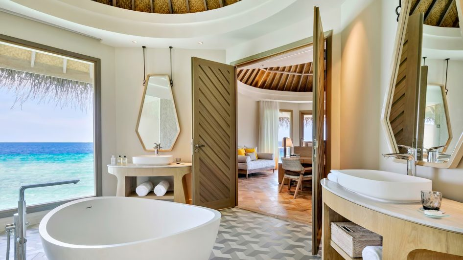 The Nautilus Maldives Luxury Resort - Thiladhoo Island, Maldives - The Nautilus Retreat Master Bathroom