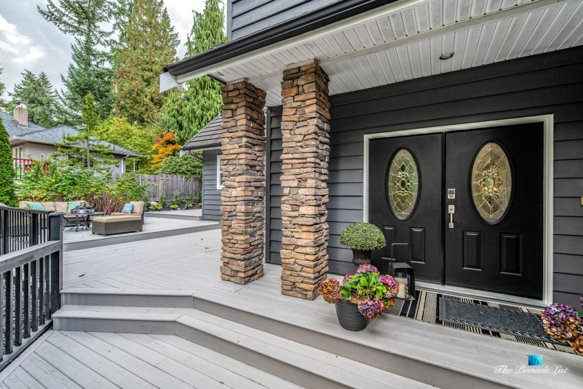 2366 Sunnyside Rd, Anmore, BC, Canada - Exterior Front Door