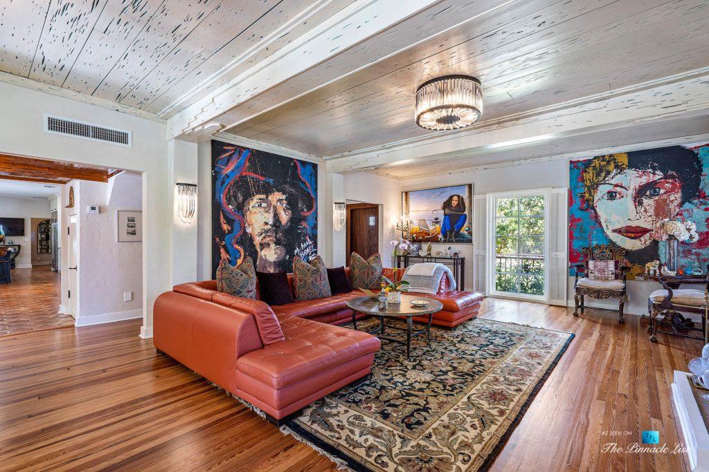 Addison Mizner Old Floresta Home – 888 Oleander St, Boca Raton, FL, USA - Living Room