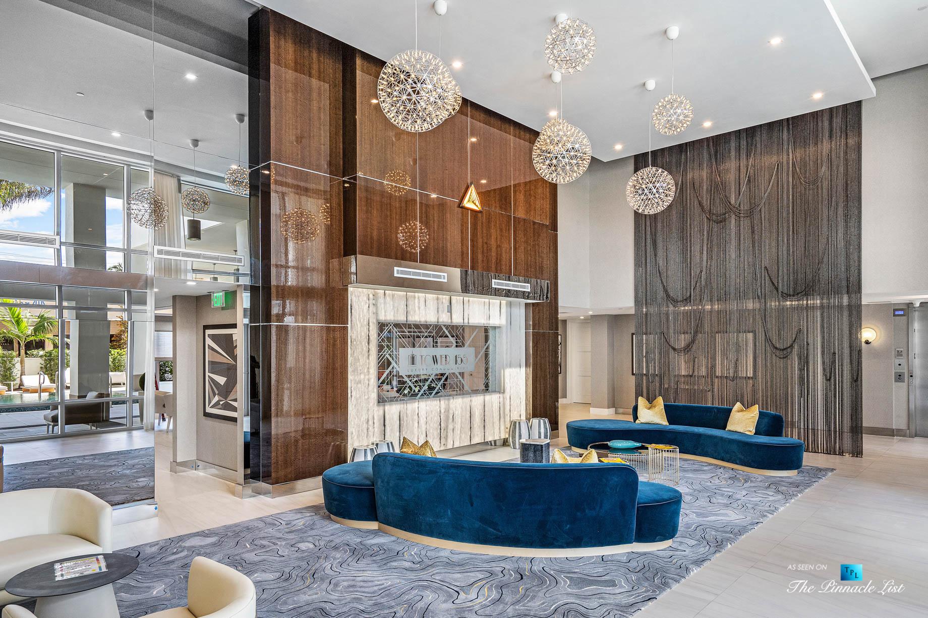 Boca Tower 155 Luxury Condo – Unit 416, 155 E Boca Raton Rd, Boca Raton, FL, USA – Lobby