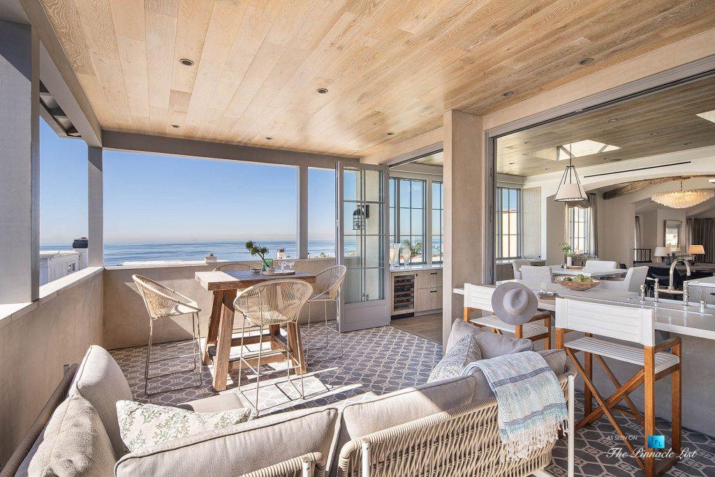 Exquisite Luxury Walk Street Home - 220 8th St, Manhattan Beach, CA, USA - Oceanview Deck