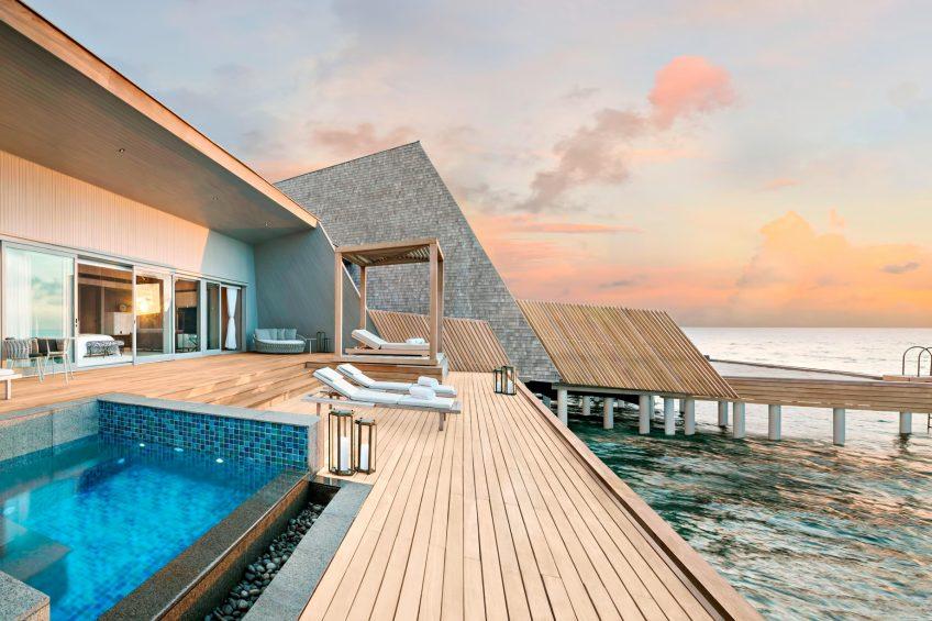 The St. Regis Maldives Vommuli Luxury Resort - Dhaalu Atoll, Maldives - John Jacob Astor Estate Suite Terrace