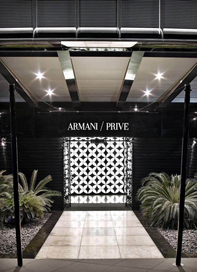 Armani Hotel Dubai - Burj Khalifa, Dubai, UAE - Armani Prive Night Club Entrance
