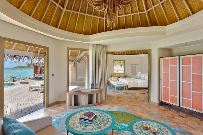 The Nautilus Maldives Luxury Resort - Thiladhoo Island, Maldives - The Nautilus Retreat Living Room