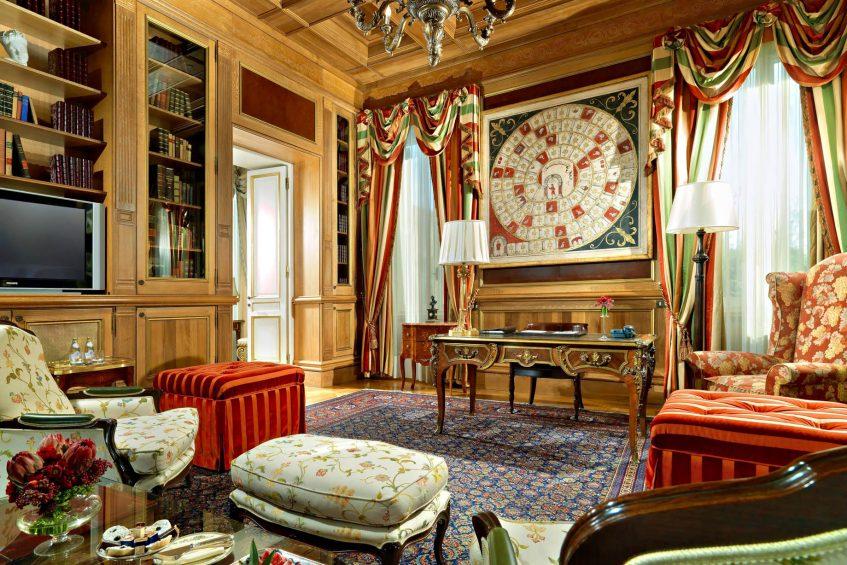 The St. Regis Rome Luxury Hotel - Rome, Italy - Royal Suite Studio