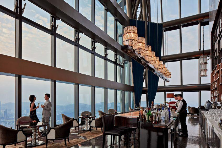 The St. Regis Shenzhen Luxury Hotel - Shenzhen, China - The Drawing Room and St. Regis Bar