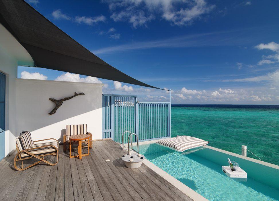 Amilla Fushi Luxury Resort and Residences - Baa Atoll, Maldives - Sunset Water Villa Pool