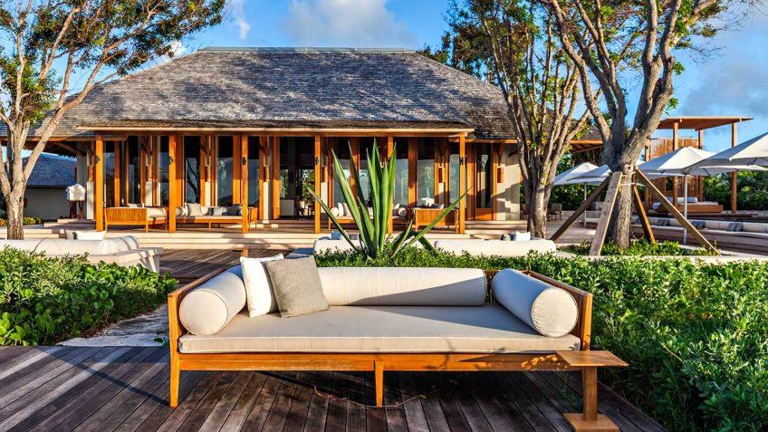 Amanyara Luxury Resort - Providenciales, Turks and Caicos Islands - Artist Ocean Villa Deck