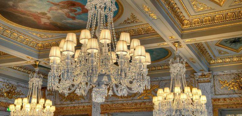 InterContinental Bordeaux Le Grand Hotel - Bordeaux, France - Chandelier