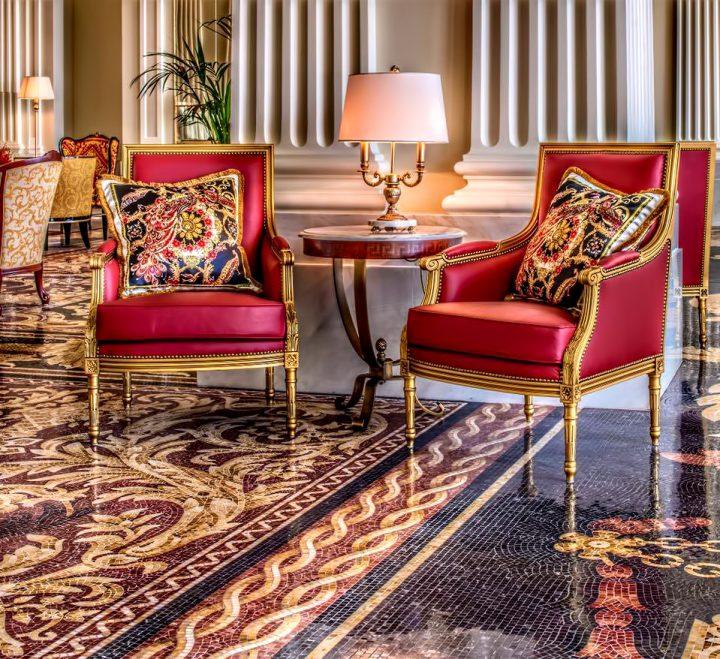 Palazzo Versace Dubai Hotel - Jaddaf Waterfront, Dubai, UAE - Neoclassical Architecture and Signature Versace Decor