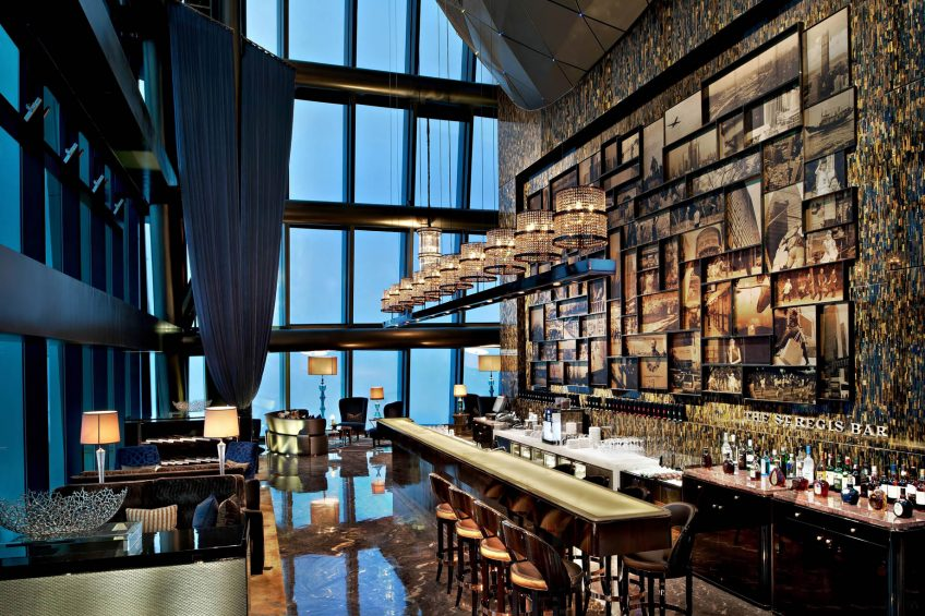 The St. Regis Shenzhen Luxury Hotel - Shenzhen, China - The St. Regis Bar