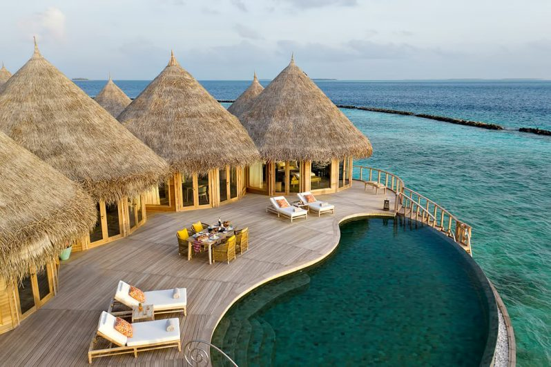 The Nautilus Maldives Luxury Resort - Thiladhoo Island, Maldives - The Nautilus Retreat Pool Deck