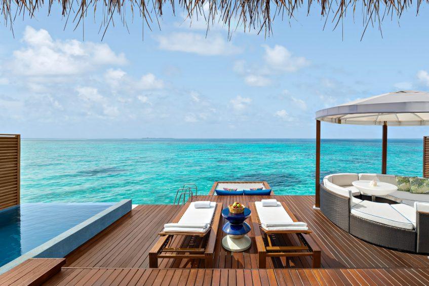 W Maldives Luxury Resort - Fesdu Island, Maldives - Overwater Bungalow Pool Terrace