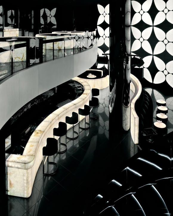 Armani Hotel Dubai - Burj Khalifa, Dubai, UAE - Armani Prive Night Club Bar
