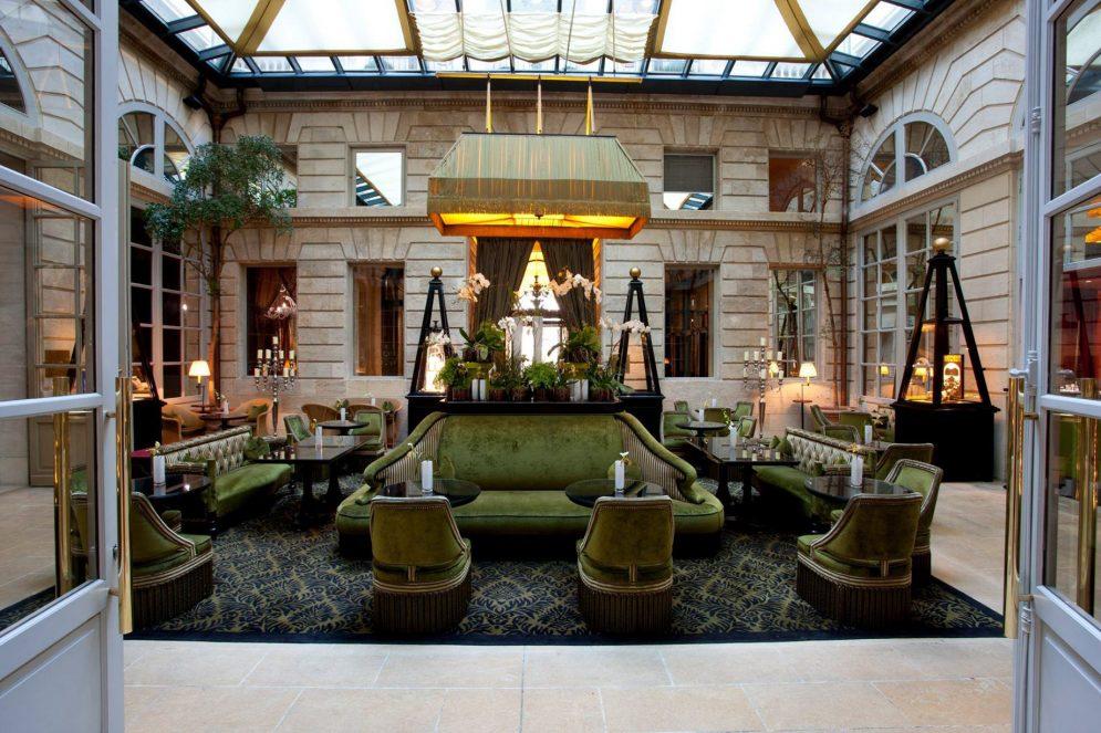 InterContinental Bordeaux Le Grand Hotel - Bordeaux, France - Bar l'Orangerie