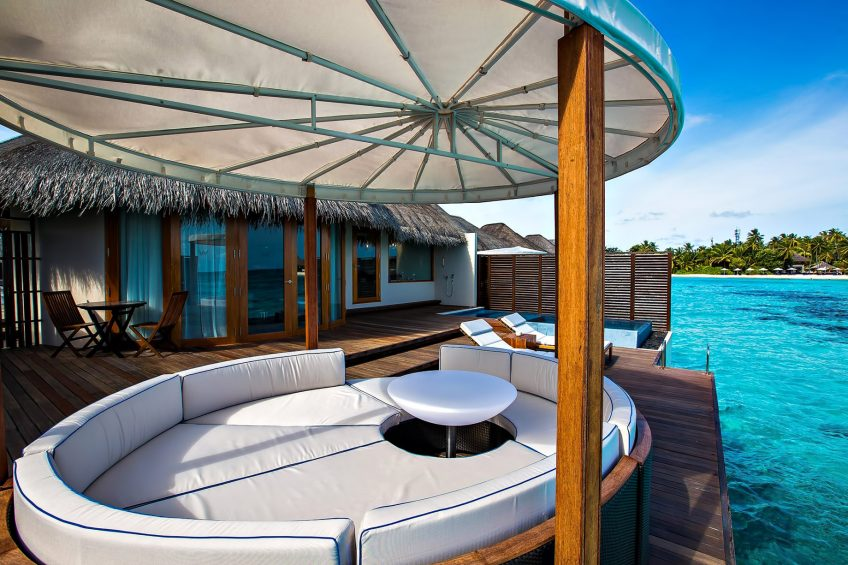 W Maldives Luxury Resort - Fesdu Island, Maldives - Overwater Bungalow Pool Deck