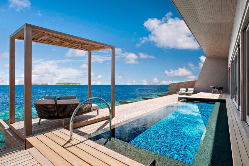 The St. Regis Maldives Vommuli Luxury Resort - Dhaalu Atoll, Maldives - St. Regis Overwater Suite Terrace