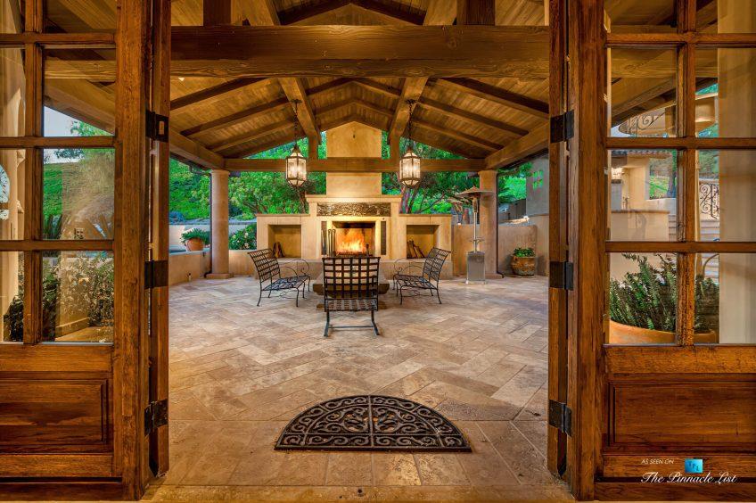 2667 Via De Los Ranchos, Los Olivos, CA, USA - Exterior Lounge Deck