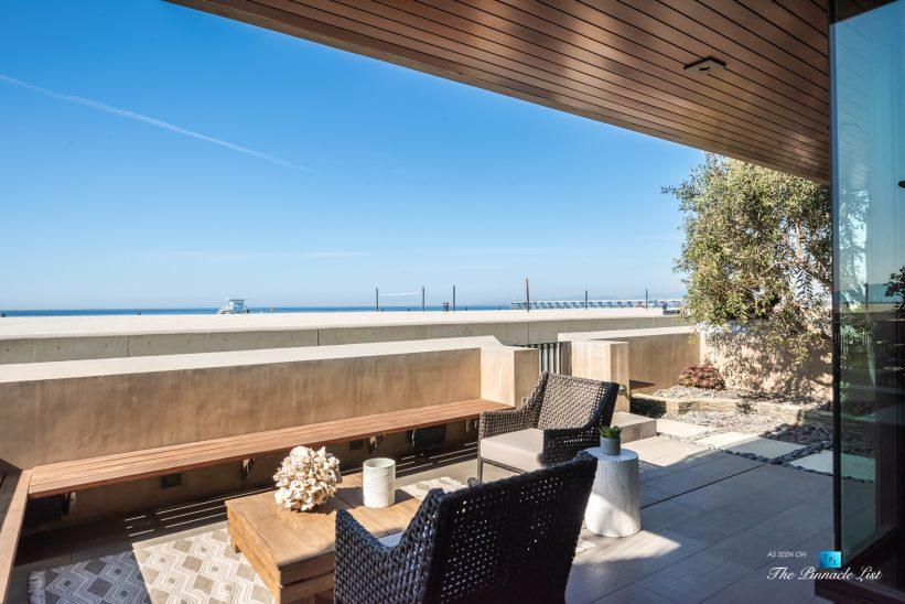 732 The Strand, Hermosa Beach, CA, USA - Downstairs Patio