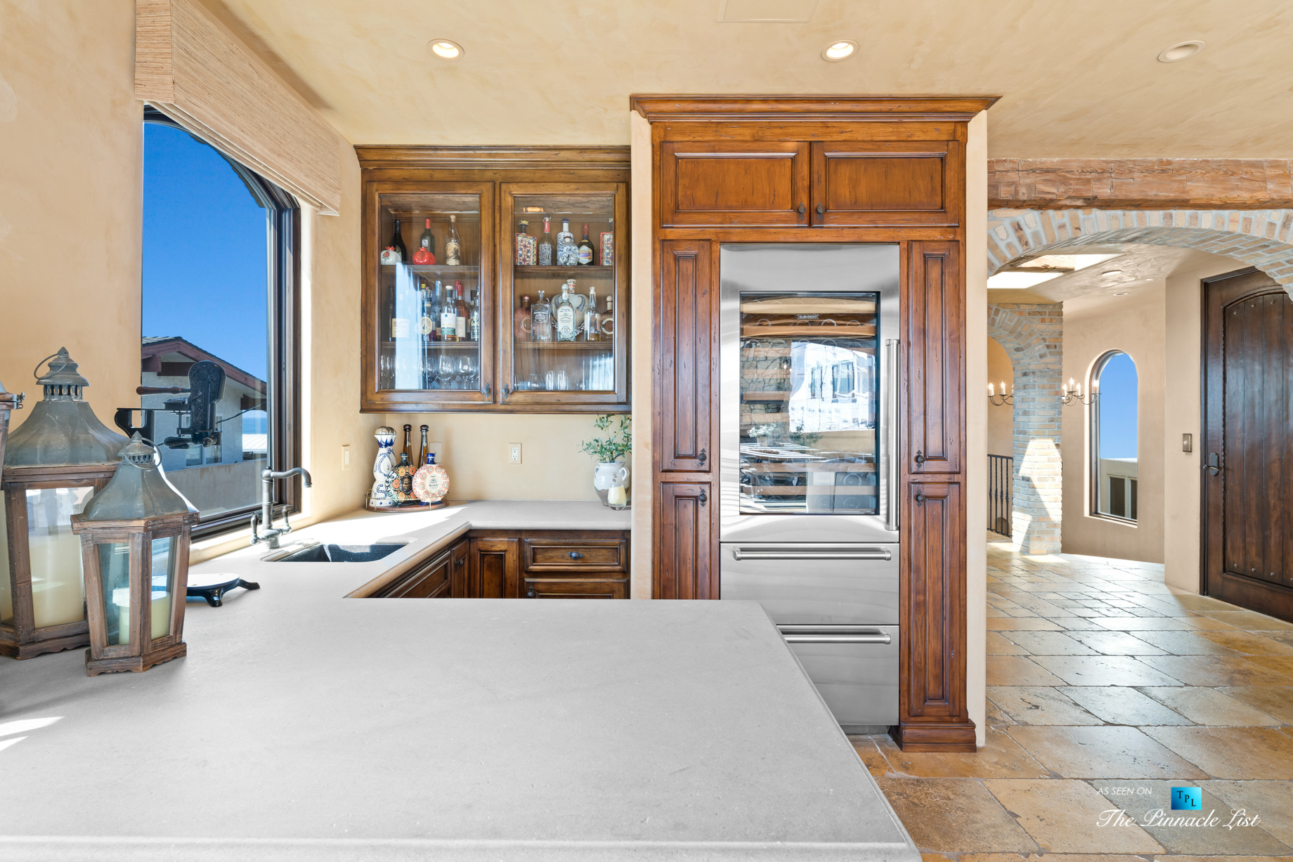 216 7th St, Manhattan Beach, CA, USA – Luxury Real Estate – Coastal Villa Home – Living Room Summer Kitchen