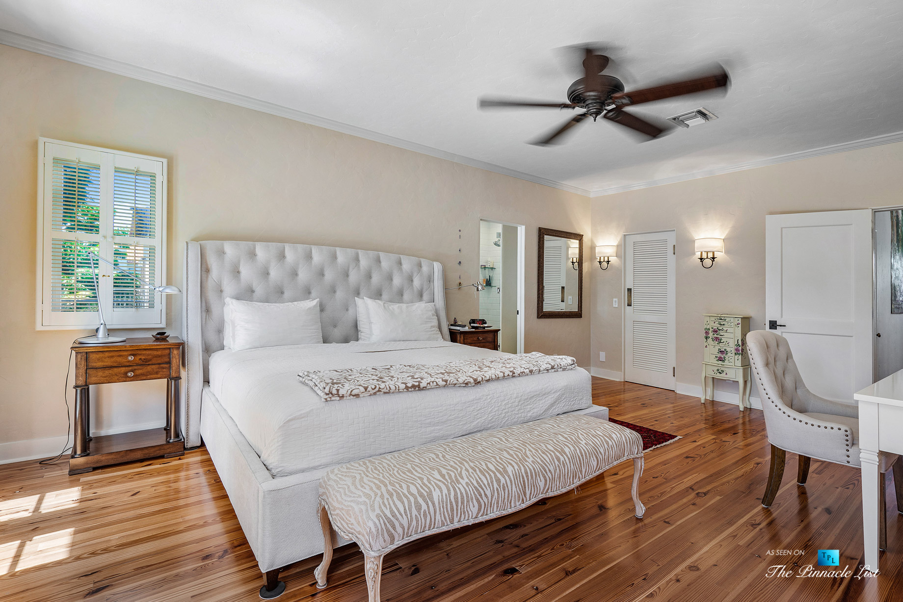 888 Oleander St, Boca Raton, FL, USA – Luxury Real Estate – Old Floresta Estate Home – Master Bedroom