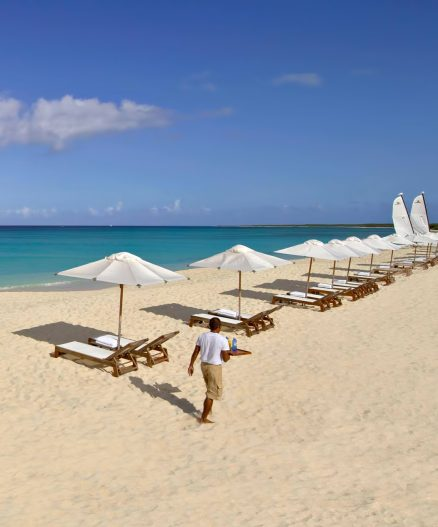 Amanyara Luxury Resort - Providenciales, Turks and Caicos Islands - Private Beach Chair Service