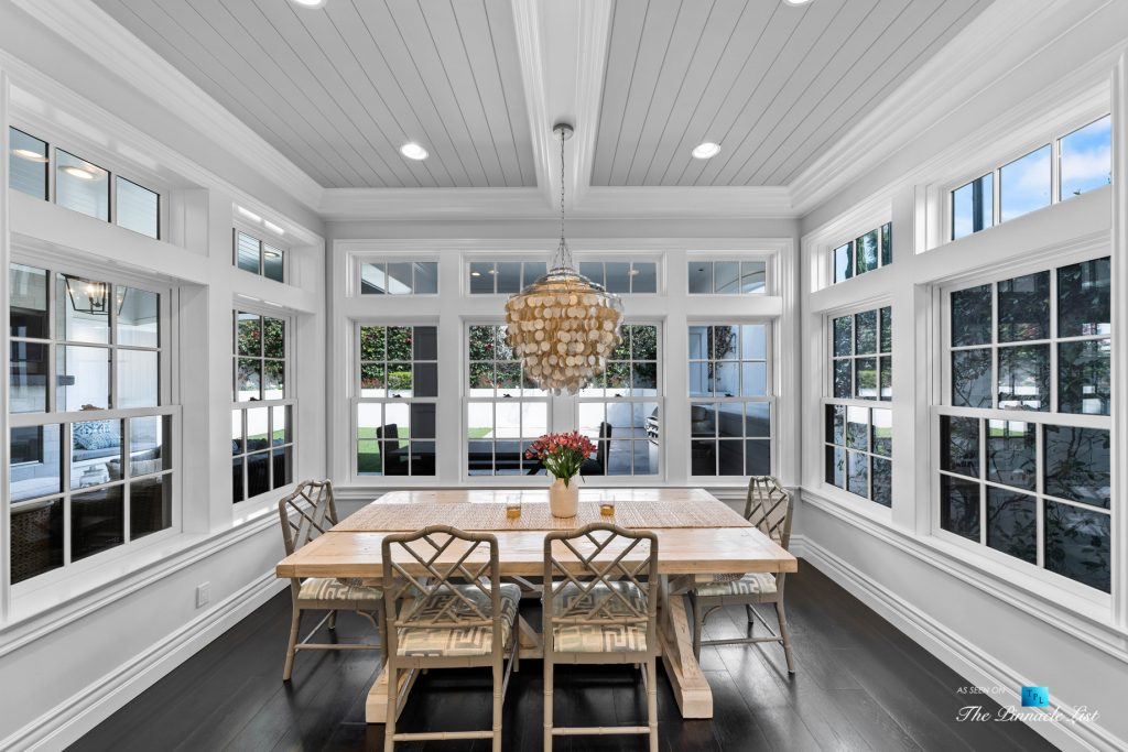Authentic East Coast Cape Cod Style Home - 1412 Laurel Ave, Manhattan Beach, CA, USA - Breakfast Nook