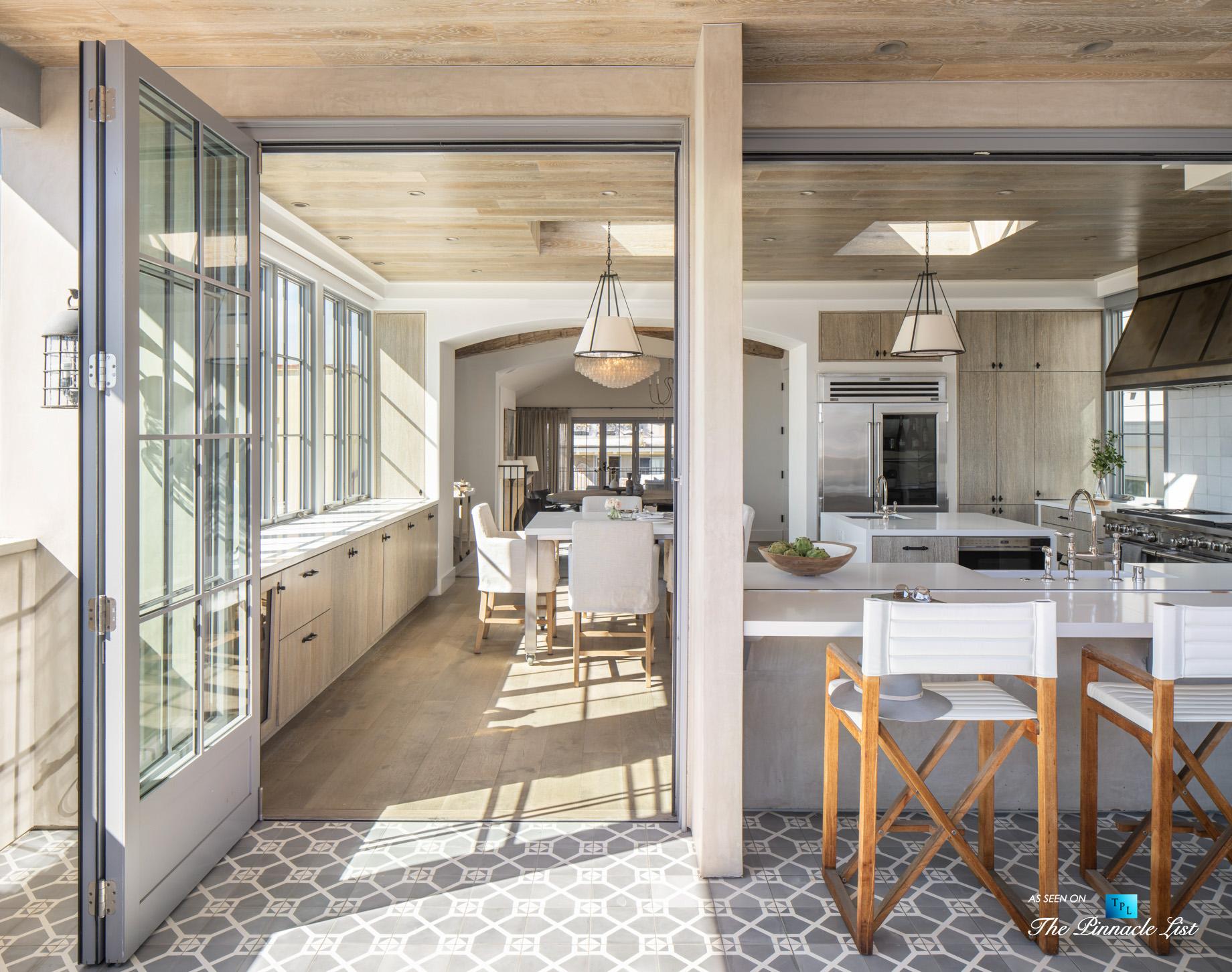 Exquisite Luxury Walk Street Home – 220 8th St, Manhattan Beach, CA, USA – Private Deck and Kitchen