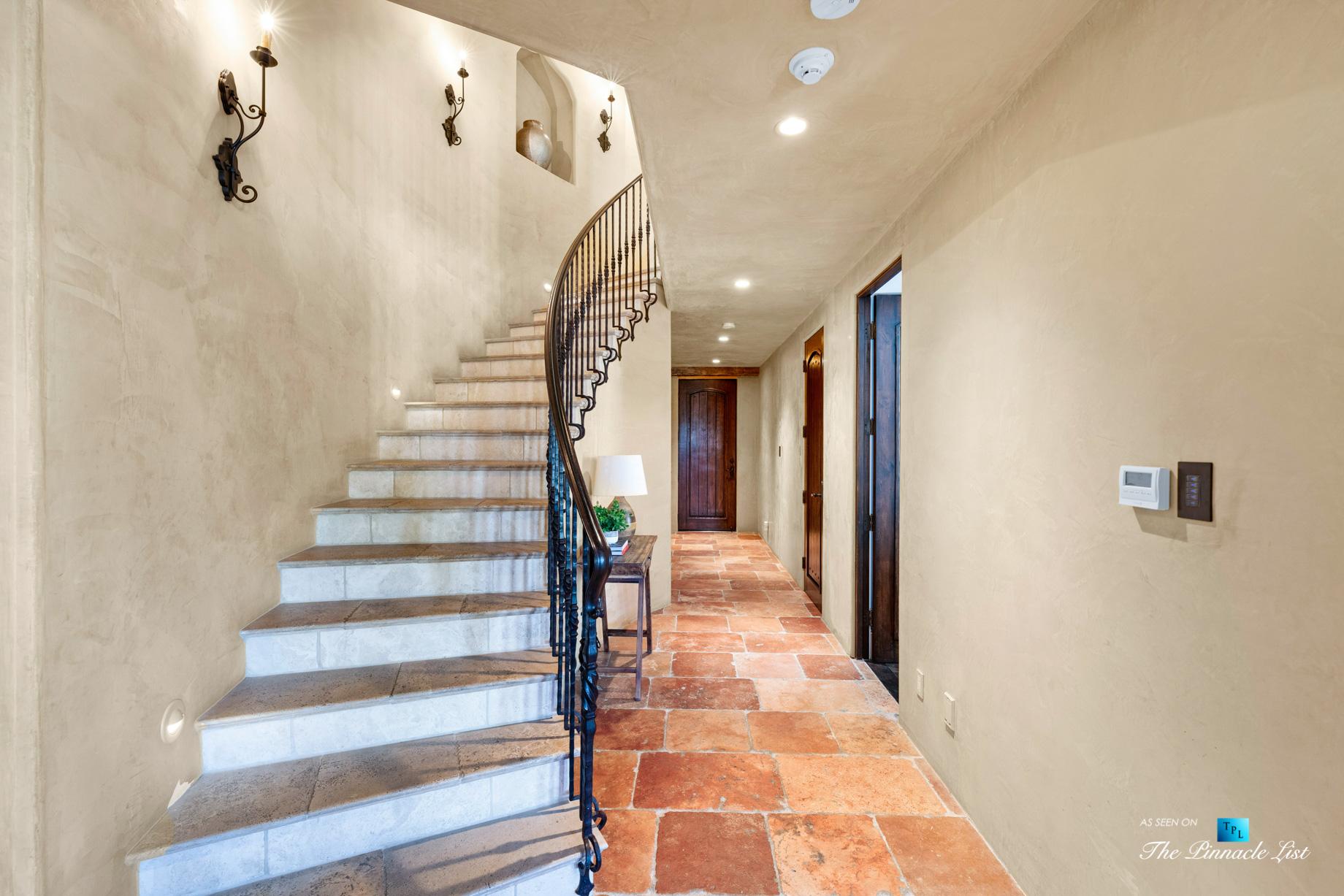 216 7th St, Manhattan Beach, CA, USA – Luxury Real Estate – Coastal Villa Home – Stairs and Hallway