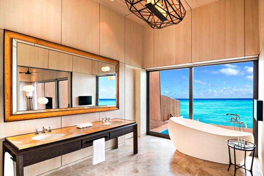 The St. Regis Maldives Vommuli Luxury Resort - Dhaalu Atoll, Maldives - Overwater Villa with Pool